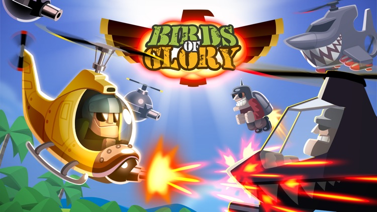 Birds of Glory | War Helicopter Arcade Game screenshot-4