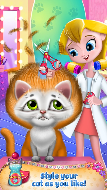 Crazy Kitty Cat Salon screenshot-4