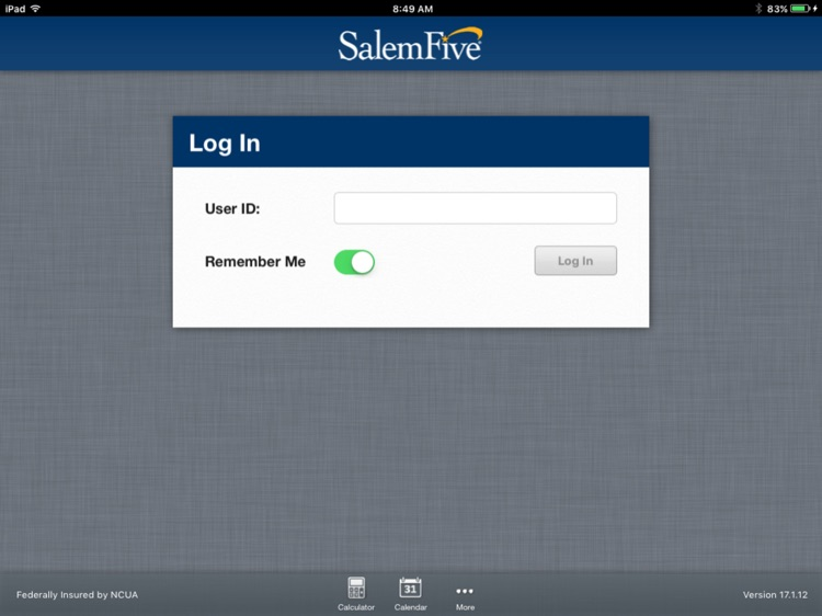 Salem Five Banking for iPad