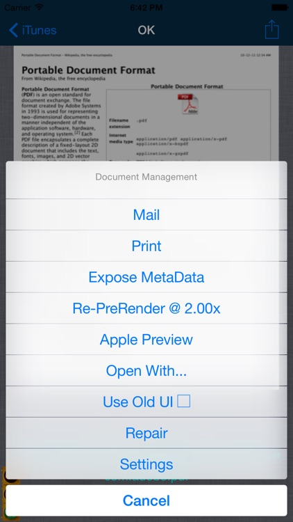 PDF Reader P.r.o. screenshot-4