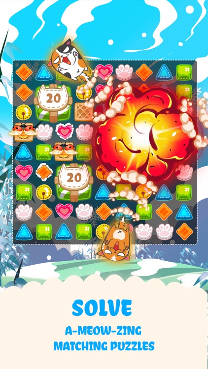 Fancy Cats - Puzzle & Kitties screenshot-3