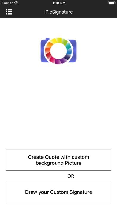 iPicSignature Screenshots