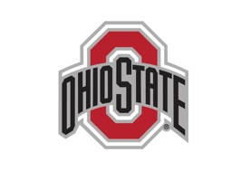 Animate your text and photo messages Buckeyes style with the Ohio State Buckeyes Animated+Stickers for iMessage
