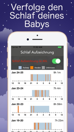 sound sleeper wei es rauschen im app store. Black Bedroom Furniture Sets. Home Design Ideas