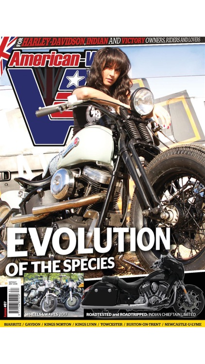 American-V - The American V-Twin Motorcycle Magazine
