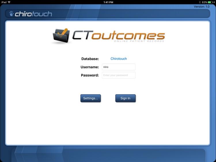 CT Outcomes Mobile 7.0