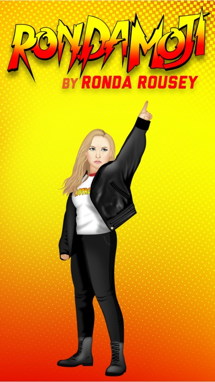 RondaMoji by Ronda Rousey