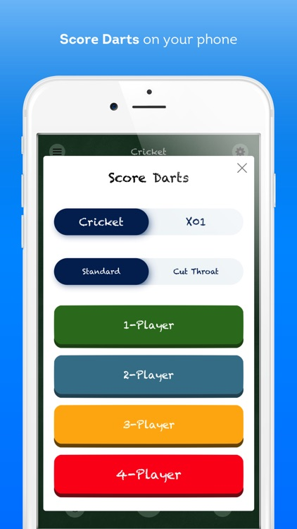 Score Darts Cricket and X01 screenshot-0