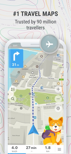 Maps offline map nav on the app store iphone ipad gumiabroncs Image collections