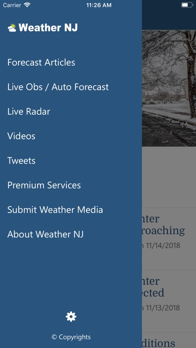 Screenshot for Weather NJ LLC in United States App Store