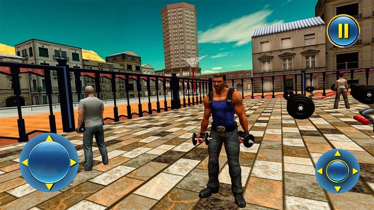 Open World Virtual Gym Fight