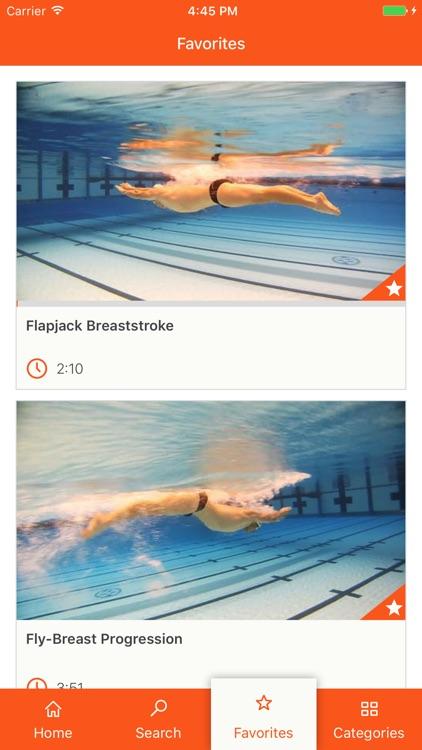 Swim Videos by Fitter & Faster screenshot-4