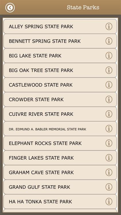 Great -Missouri Camps & Trails screenshot-4