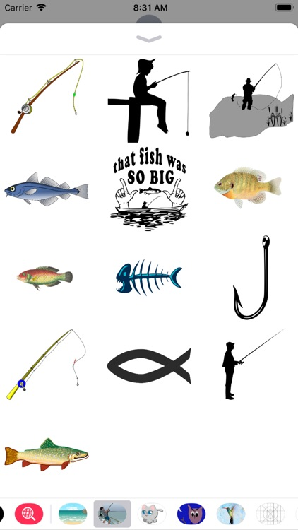 Fishing Stickers - 2018