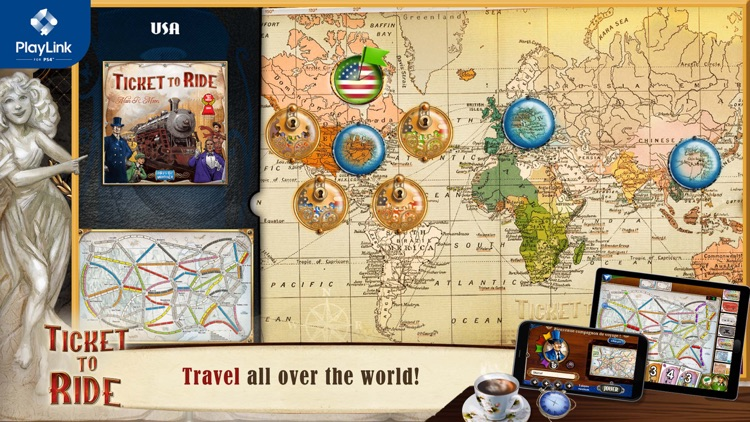 Ticket to Ride for PlayLink screenshot-3
