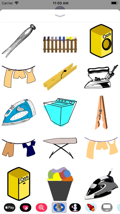 Lotsa Laundry Stickers screenshot-1