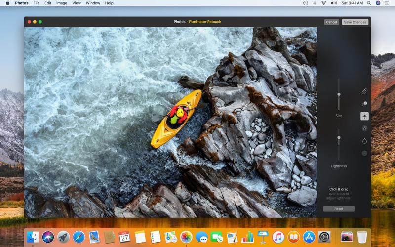 Pixelmator review screenshots