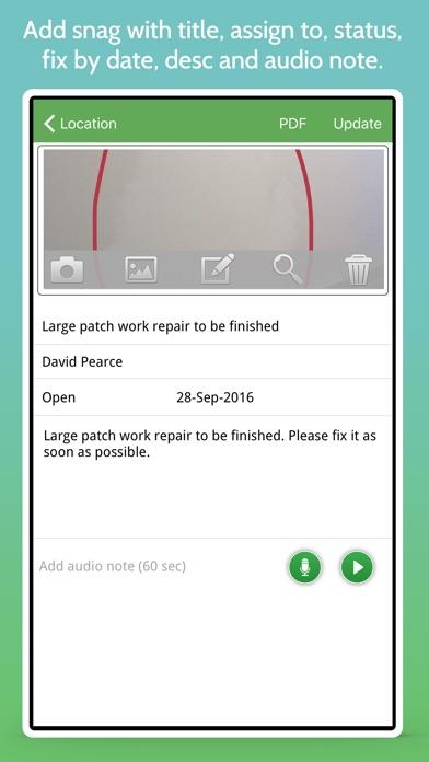 SnagID - Snagging and Defects Screenshots