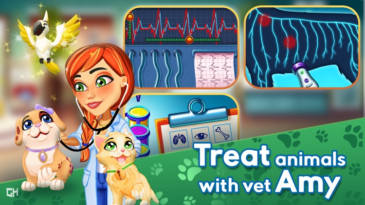 Dr. Cares - Amy's Pet Clinic screenshot-0