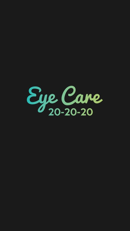 Eye Care 20 20 20 screenshot-4