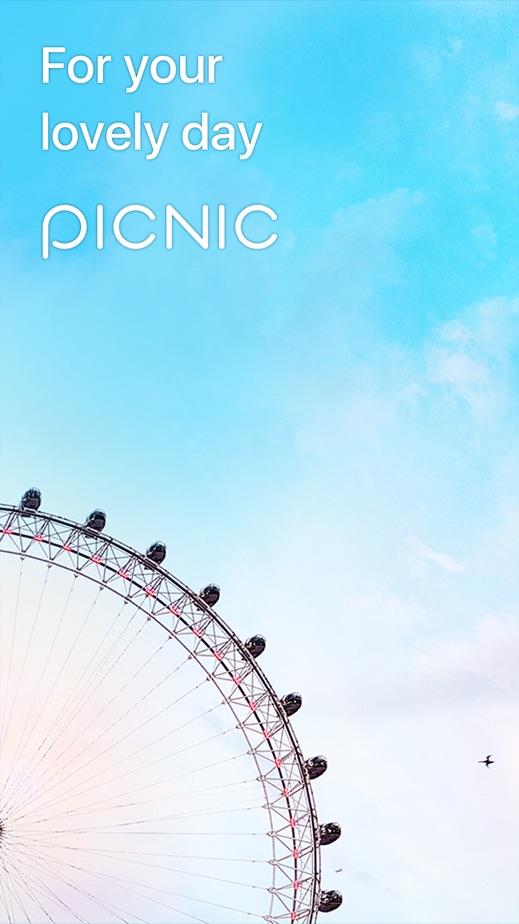 PICNIC - 抛开阴天多云 转眼阳光明媚 App 截图