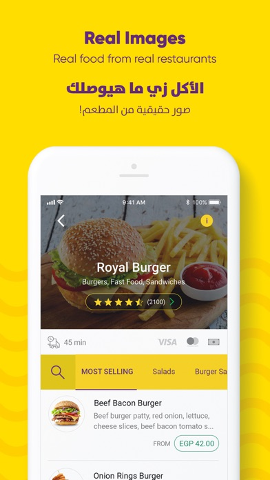 Screenshot for Otlob - Online food delivery in Hong Kong App Store
