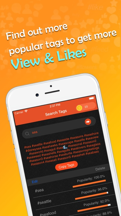 Smart Likes for Popular Tags screenshot-4