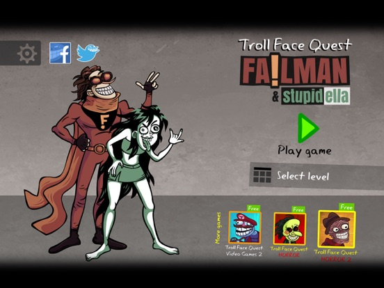 Troll Face Quest: Failman screenshot 6