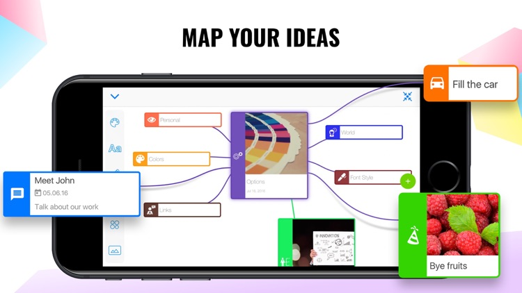 Mind Mapping – Visualize Ideas