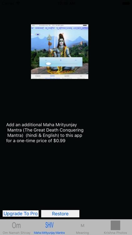 Om Namah Shivaya Mantra Audio