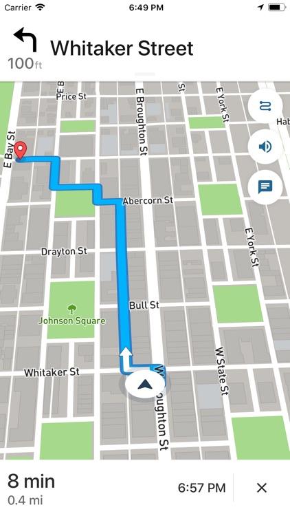 Savannah Ghost Map screenshot-3