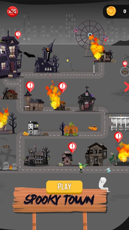 Halloween City: Dragon Plane