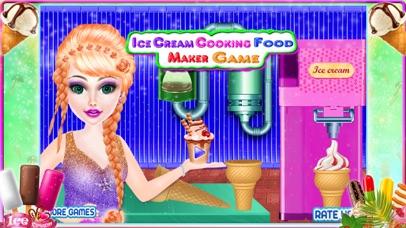 Ice cream cooking - food maker screenshot one
