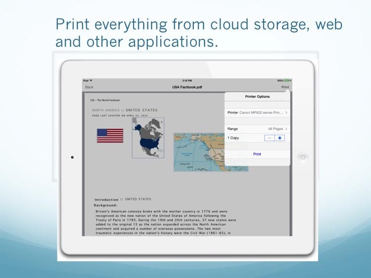 Print Easy for iPad screenshot-3
