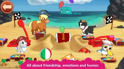 Peppy Pals Beach: SEL for kids Screenshots