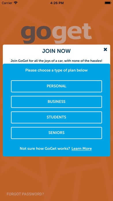 Download GoGet for Pc