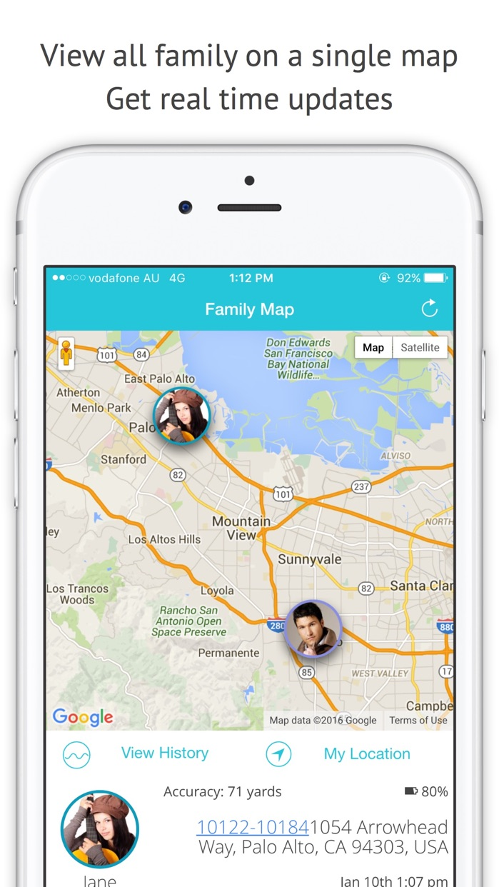 Family Locator & Phone Tracker Screenshot