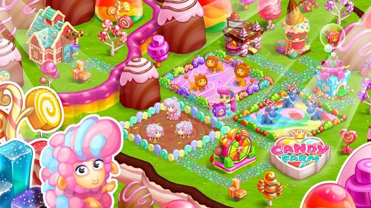 Candy Farm and Magic cake town screenshot-5