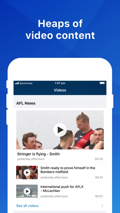 Footy Live: AFL Sports News screenshot-3