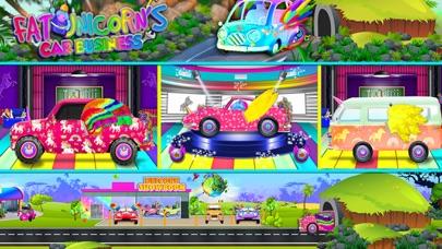 Mr. Fat Unicorn Car Mechanic screenshot 7