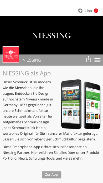 Niessing Retail screenshot 1