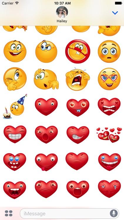 Love Stickers Emoji screenshot-3
