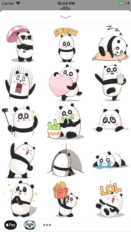 Panda! Stickers & Emoji Funny