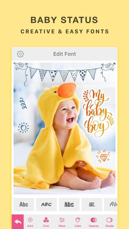 Baby Photo Editor Effects screenshot-3