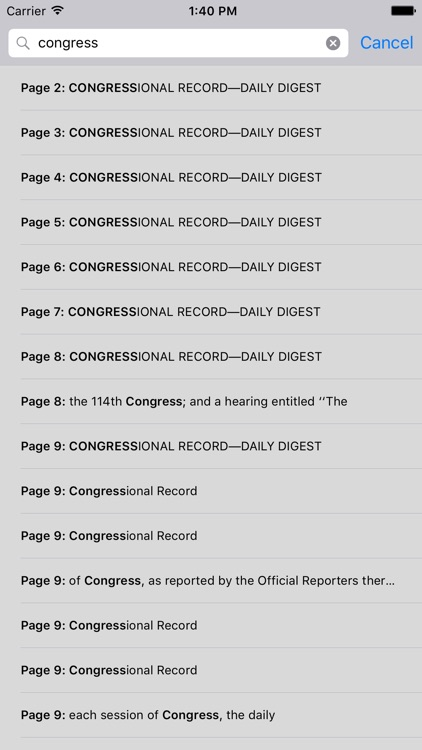 The Congressional Record screenshot-3