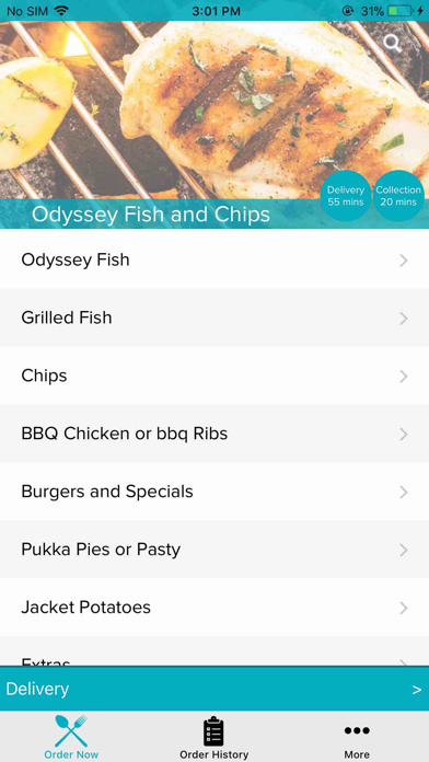 Odyssey Fish and Chips screenshot two