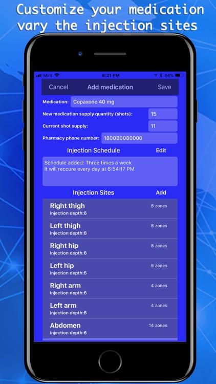 Injection Tracker & Scheduler