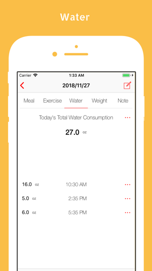 simple food tracker diary on the app store