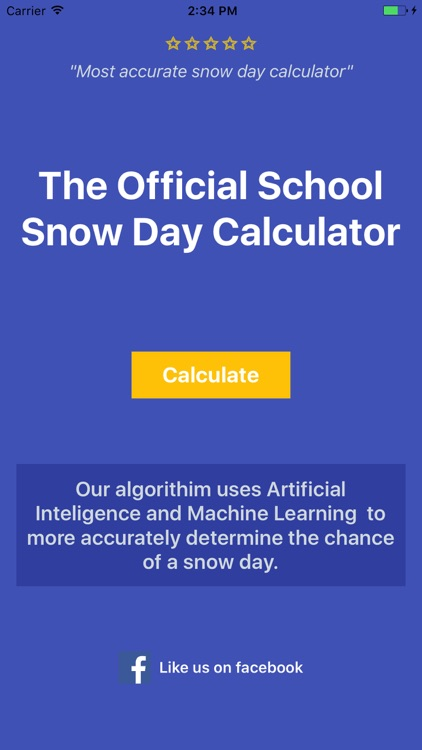 Snow Day Calculator Pro - 2018