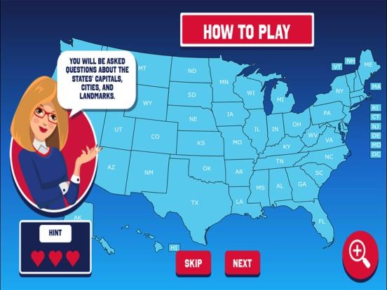 Guess the USA State screenshot 4